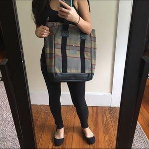  NWT Neutral striped Laptop bag