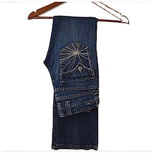 Miss Me Denim - Gorgeous Miss Me blue jeans style  jp4434