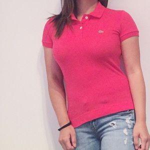 Lacoste Women's Slim Fit Stretch Pique Polo-S