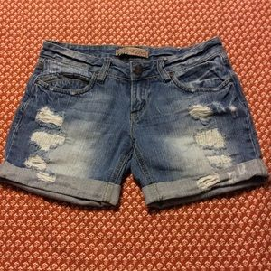 Wallflower Pants - Adorable Wallflower Denim Shorts