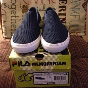 Fila Shoes - NWT Fila Memory Fanelli Mesh slip on shoes