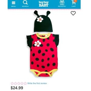 Sozo Other - Sozo Ladybug Outfit 👶🏻🐞