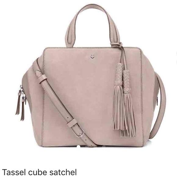 5fd5d474f92 Tassel cube satchel. M 580a8e3e680278063901eaac