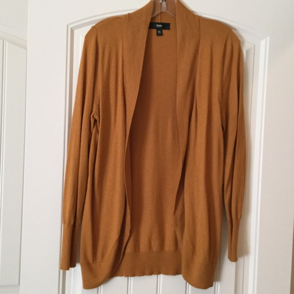 79% off Mossimo Supply Co. Sweaters - Gold Colored Cardigan from ...
