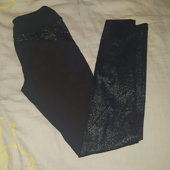 2db87b6e166ed Beyond Yoga Pants - Beyond Yoga Glitter Panel leggings