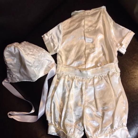 made in usa boutique Matching Sets - satin christening wedding shortalls Jon jons