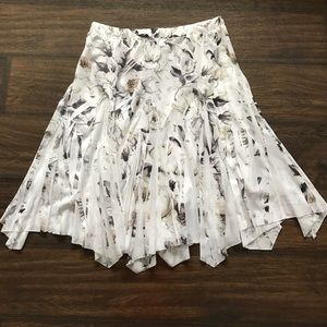 Maurices Dresses & Skirts - Beautiful Gray & White Maurices Skirt