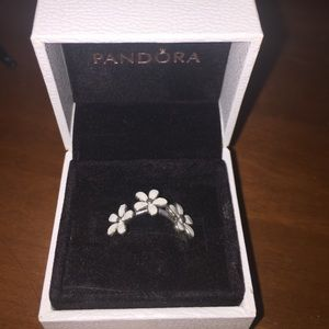 New Pandora Flower Ring!