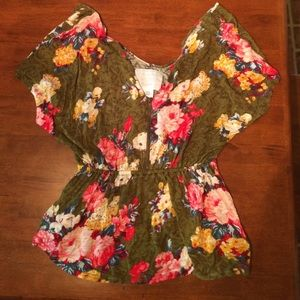 Flowy boho top from Urban Outfitters