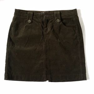Old Navy Dresses & Skirts - Old Navy Olive Green Stretch Corduroy Pencil Skirt