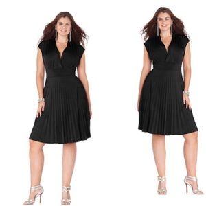 Soprano Dresses & Skirts - 💝{Plus} Cap Sleeve Pleated Empire Waist Dress