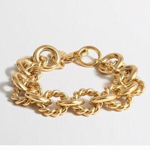 J. Crew Jewelry - SALE!❤️J. Crew Gold Stacking Bracelet