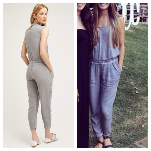 c8291bb4d25 Anthropologie Dresses   Skirts - Cloth and stone grey washed jumpsuit S