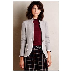 Anthropologie Blakely Marled Blazer