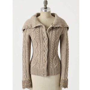 Anthropologie Femme Fisherman Cardigan