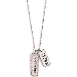 """Alisa Michelle Jewelry - ❗LAST 1❗ """"I Am Enough/Be Your Own Hero"""" Necklace"""