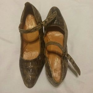 Dries Van Noten Shoes - Vintage 90's Dries van Noten Mary janes