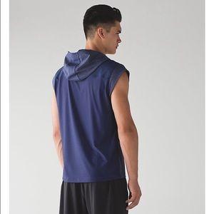 fce4c26421abcf lululemon athletica Tops - Lululemon Men s Stealth Hooded Sleeveless