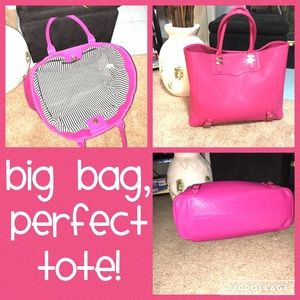 Pretty in Pink tote bag!
