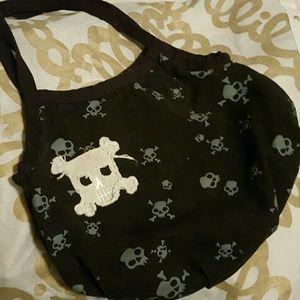 Handbags - Skull canvas handbag