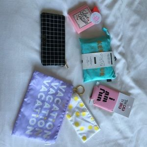 ban.do Other - NWT BANDO COSMETIC&TRAVEL BAG BUNDLE