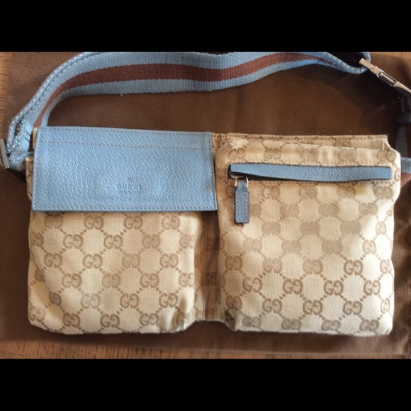 22fbce9c946 Gucci Handbags - GUCCI Original GG Canvas Belt Bag - Authentic!