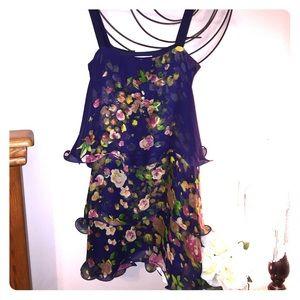 Paper Crown Dresses & Skirts - Paper Crown (Lauren Conrad) layered shift dress