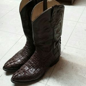Other - crocodile boots