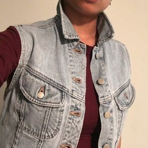 SALE!!! Banana Republic Denim Vest