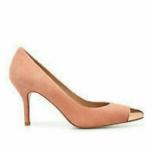Zara Pink Kitten Heels