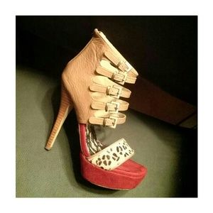TWO Lips Shoes - TWO LIPS EDGY Leather Stilettos