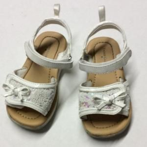 Other - Faded Glory white sandals, size 6