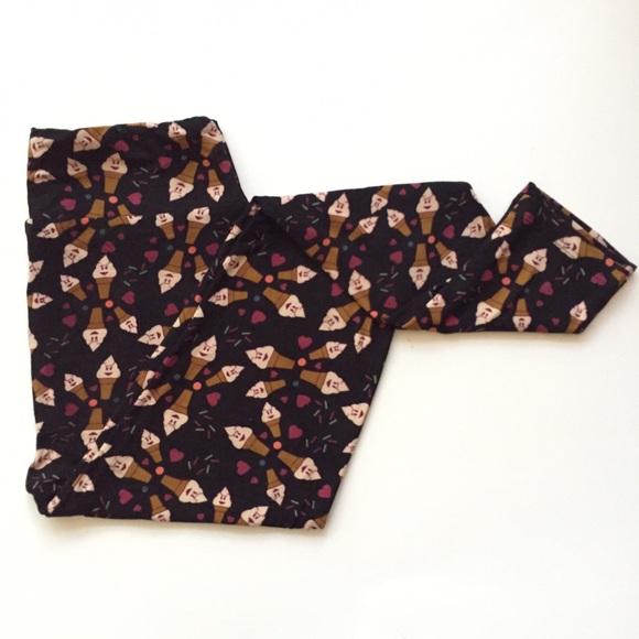 80348d50f3f311 LuLaRoe Pants | New Os Ice Cream Cones | Poshmark