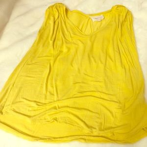 Two by Vince Camuto yellow top