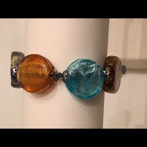 Jewelry - Handmade glass beaded bracelet