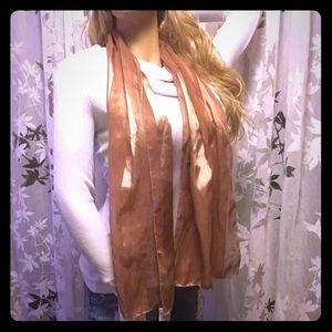 Accessories - Shimmery Gold Scarf