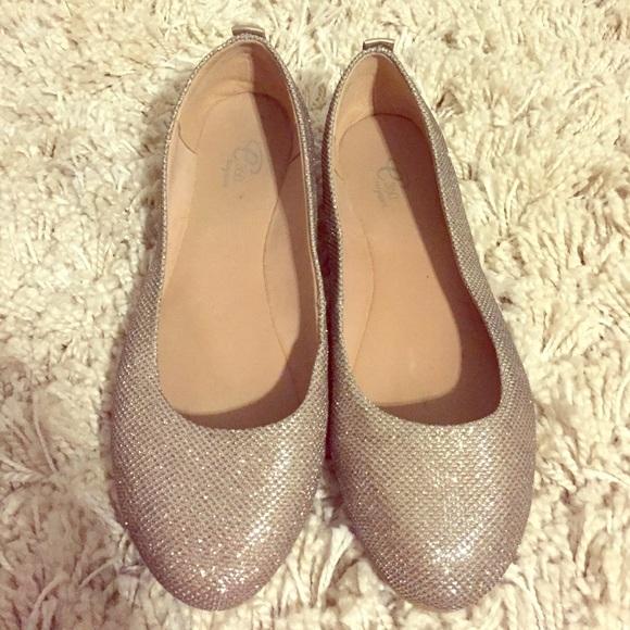 Easy Spirit Shoes | Glitter Flat | Poshmark