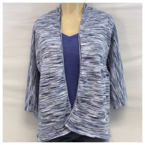 Style & Co Sweaters - STYLE & CO OPEN FRONT CARDIGAN