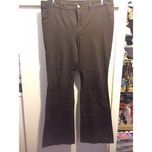 INC - International Concepts Brown Wide Leg Pants