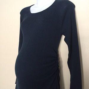 Maternity sweater dress size large