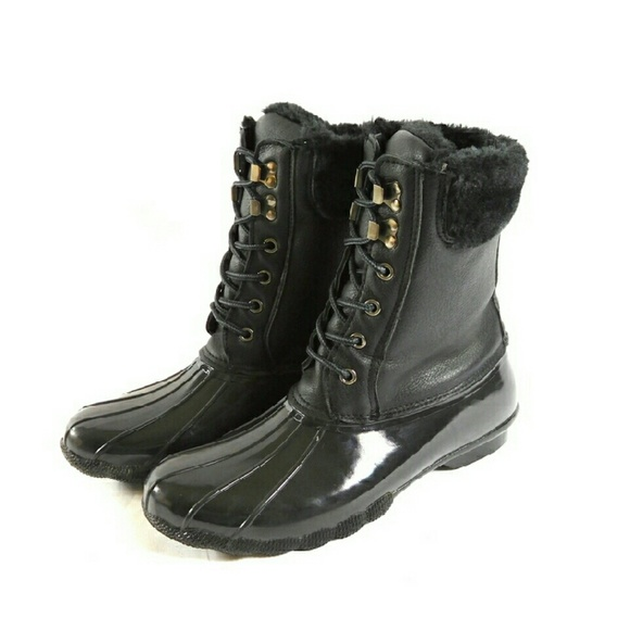 af6449813c5 Steve Madden Tstorm Lace-up Duck Boots