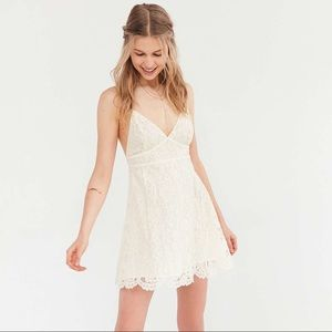 Urban Outfitters Dresses & Skirts - UO Valentina Empire Lace Mini Dress