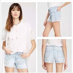 Forever 21 Pants - Distressed denim shorts