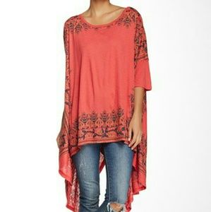 Three Bird Nest Tops - HP 11/25  Free People Tee Small Fits Large