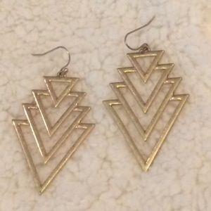 ✔️FINAL PRICE✔️Boho Vibes GoldTone Tribal Earrings