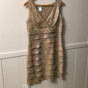 London Times Dresses & Skirts - Gold dress