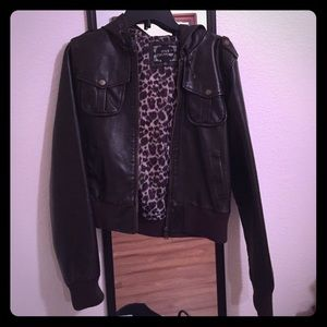 dna couture Other - Dark brown leather jacket