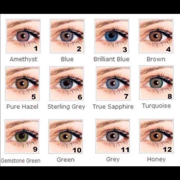 makeup freshlook color contactschoose from 12 colors poshmark