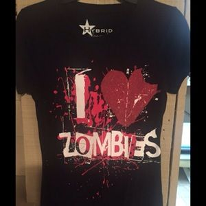 hybrid Tops - ZOMBIES T-SHIRT