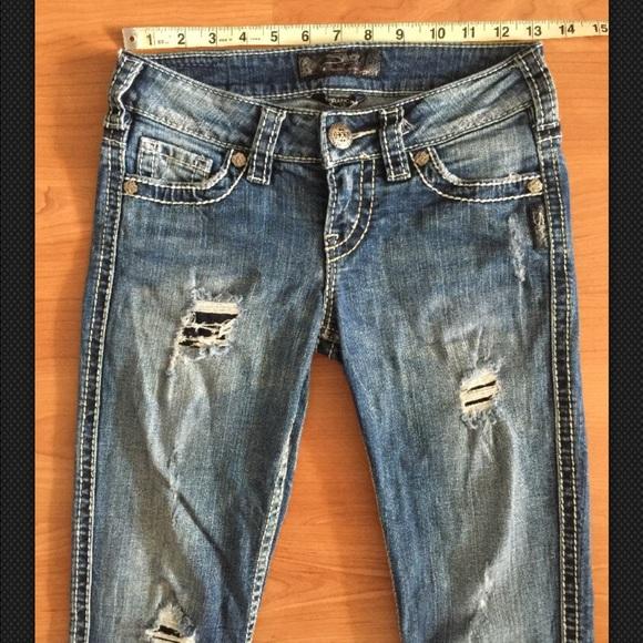 78% off Silver Jeans Denim - Silver Jeans Frances 18